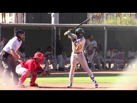 Lazaro Armenteros, OF, Oakland Athletics