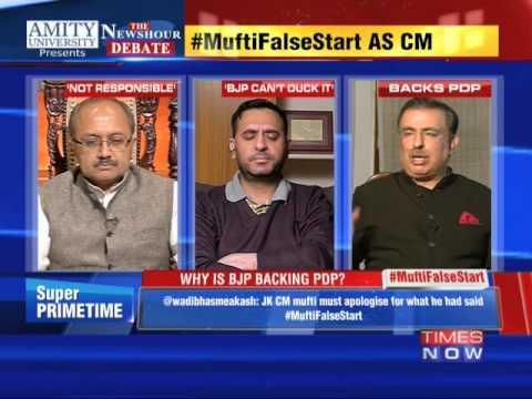 The Newshour Debate: Credit Pakistan, invoke Afzal Guru