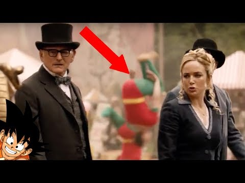 Legends Of Tomorrow Easter Eggs And DC Comics References