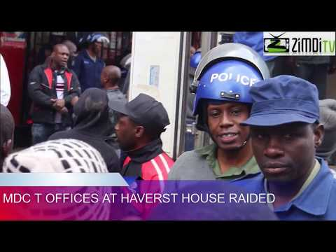 MDC-T  HARVEST HOUSE OFFICES RAIDED
