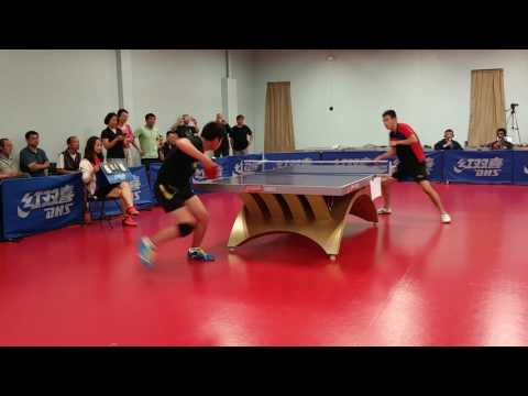 Peter Li (2480) vs Wenzhang Tao (2734) Quarter-Finals - Tao Open Table Tennis Tournament