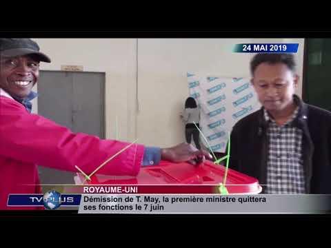 JOURNAL DU 24 MAI 2019 BY TVPLUS MADAGASCAR