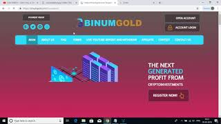binumgold.com 100& BIG Scam Site Not Paying Attached proof SCAM SCAM SCAM