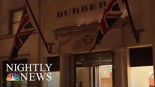 Burberry Apologizes After Model Wears Hoodie With Noose-Like Drawstring | NBC Nightly News