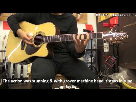 SAMICK Semi Acoustic D-6CE Guitar Review by DoReMi Damansara PJ