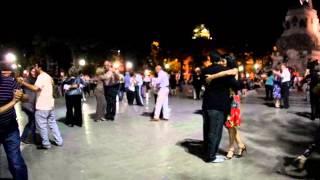 Уличное танго  Кордоба Аргентина