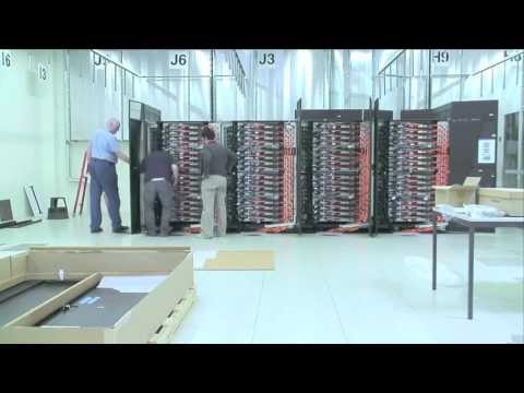 Time Lapse: Installation Of An IBM BlueGene/Q Supercomputer At CSCS For EPFL BlueBrain Project