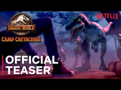 Jurassic World Camp Cretaceous | Official Teaser | Netflix