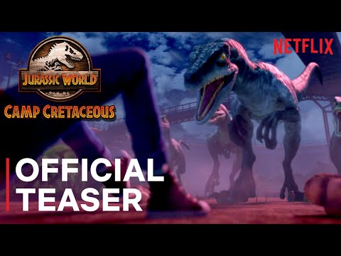 Jurassic World Camp Cretaceous | Official Teaser | Netflix from YouTube · Duration:  1 minutes 13 seconds
