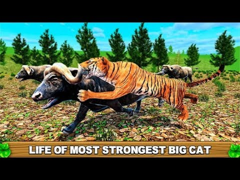 🐅🐯Asian Tiger Simulator-Азиатский тигр-симулятор-By Glufun Games-Android