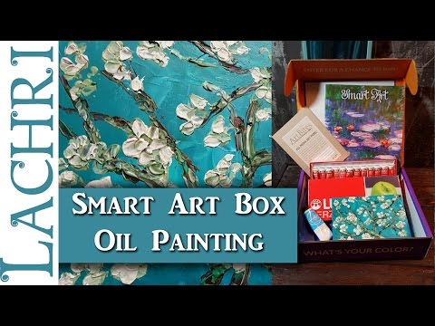 SmartArtBox - Impasto oil painting w/ palette knife tips - Lachri