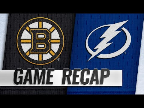 Lightning Rally With Three Goals To Down Bruins, 5-4