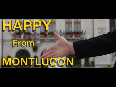 Pharrell Williams - HAPPY (We are from MONTLUÇON)