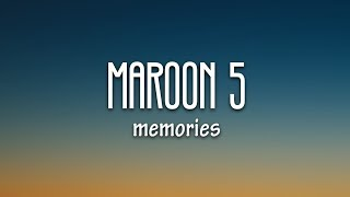 Maroon 5 Memories MP3