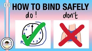 FTM BINDING TIPS- DO'S AΝD DON'TS TO BIND SAFELY