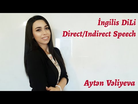 İNGİLİS DİLİ (Direct/Indirect Speech)