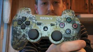Sony PS3 URBAN CAMOUFLAGE ( Camo ) Dualshock 3 Controller Unboxing