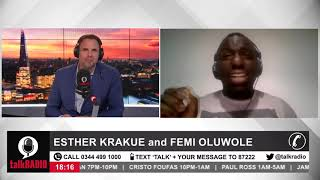 Are the police institutionally racist? Esther Krakue and Femi Oluwole debate