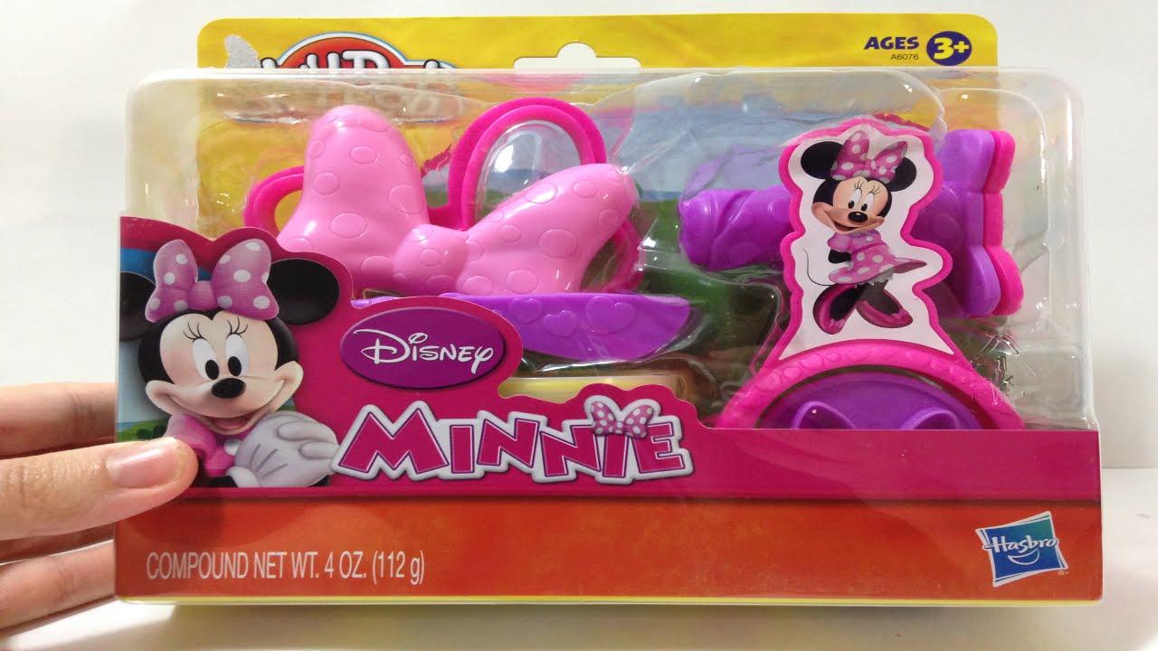 96b304dbf Minnie Mouse PlayDoh ألعاب صلصال ميني ماوس ألعاب بنات معجون - YouTube