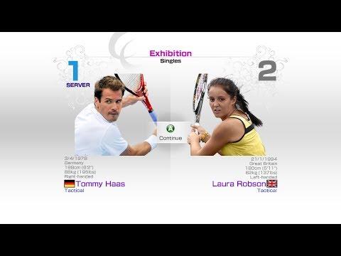 virtua-tennis-4-sega-tommy-haas-vs-laura-robson-rafael-nadal-roger-federer-andy-murray