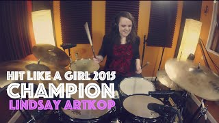 Hit Like A Girl 2015 18+ CHAMPION WINNING VIDEO - Lindsay Artkop