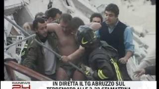 Terremoto in Abruzzo - Prime immagini del mattino (ore 7:30)