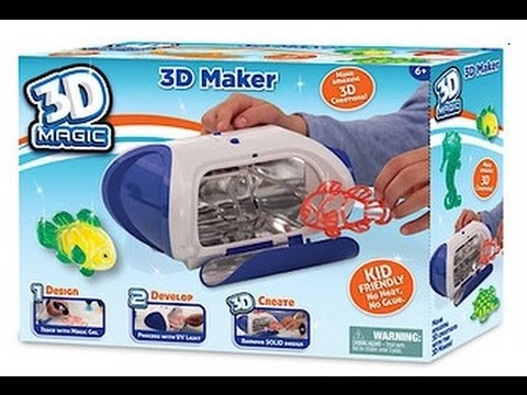 3d Magic Maker Review Youtube