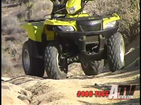 ATV Television Test  2005 Suzuki King Quad 700