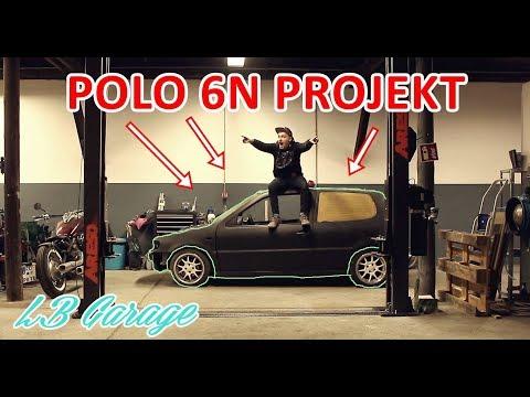 LB GARAGE- POLO 6N PROJEKT & Hebebühne gesponsert!