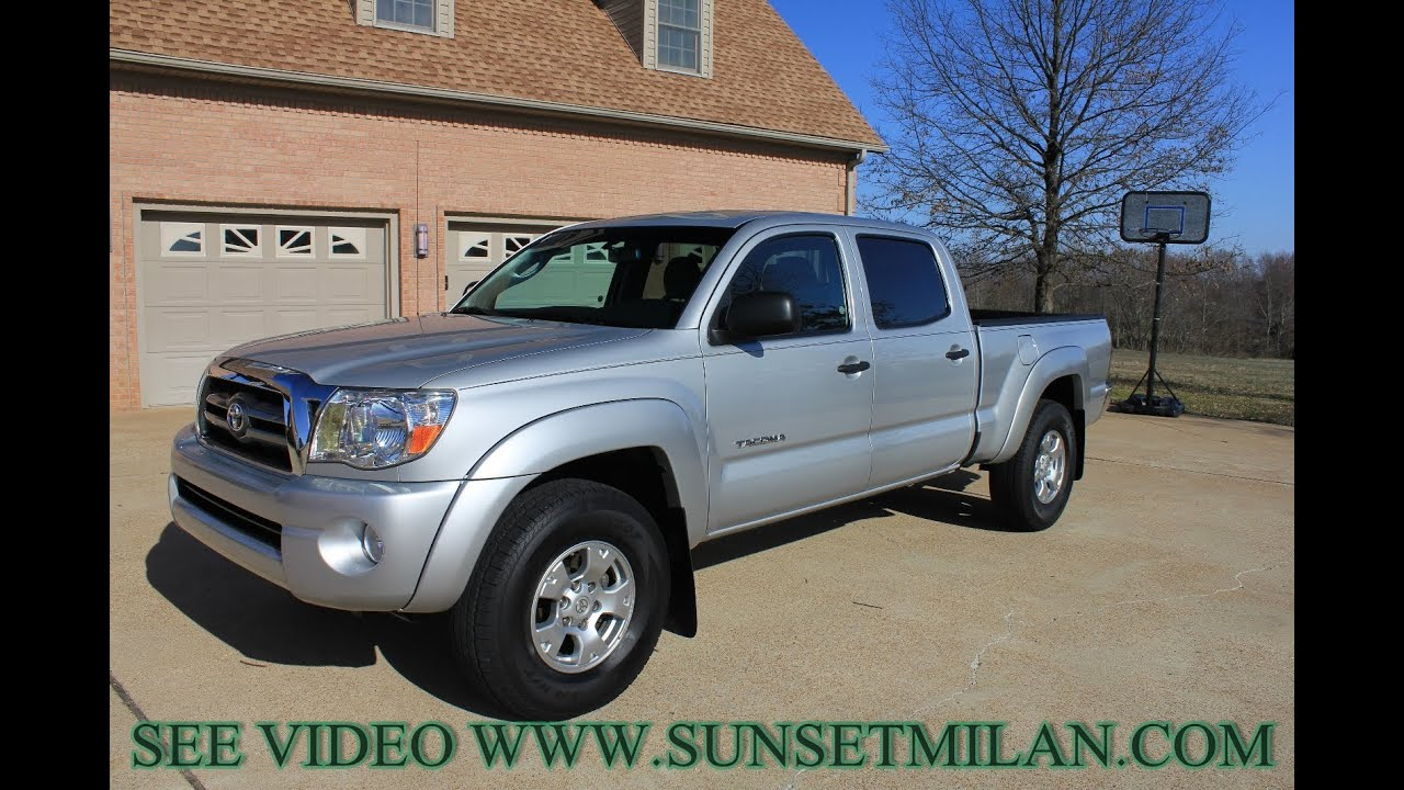 hd video 2010 toyota tacoma sr5 double cab 4x4 used for sale see www sunsetmilan com youtube. Black Bedroom Furniture Sets. Home Design Ideas
