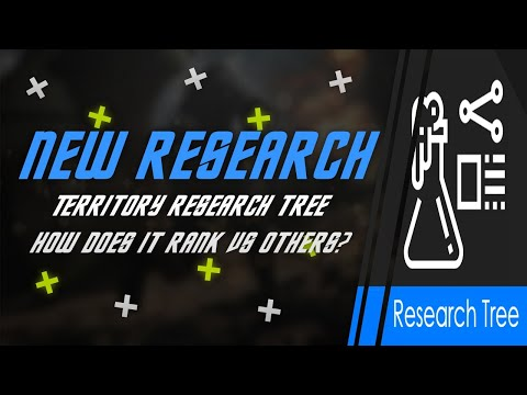 New Territory Research Tree | Is it any good? | Quick Overview of starter research | STFC