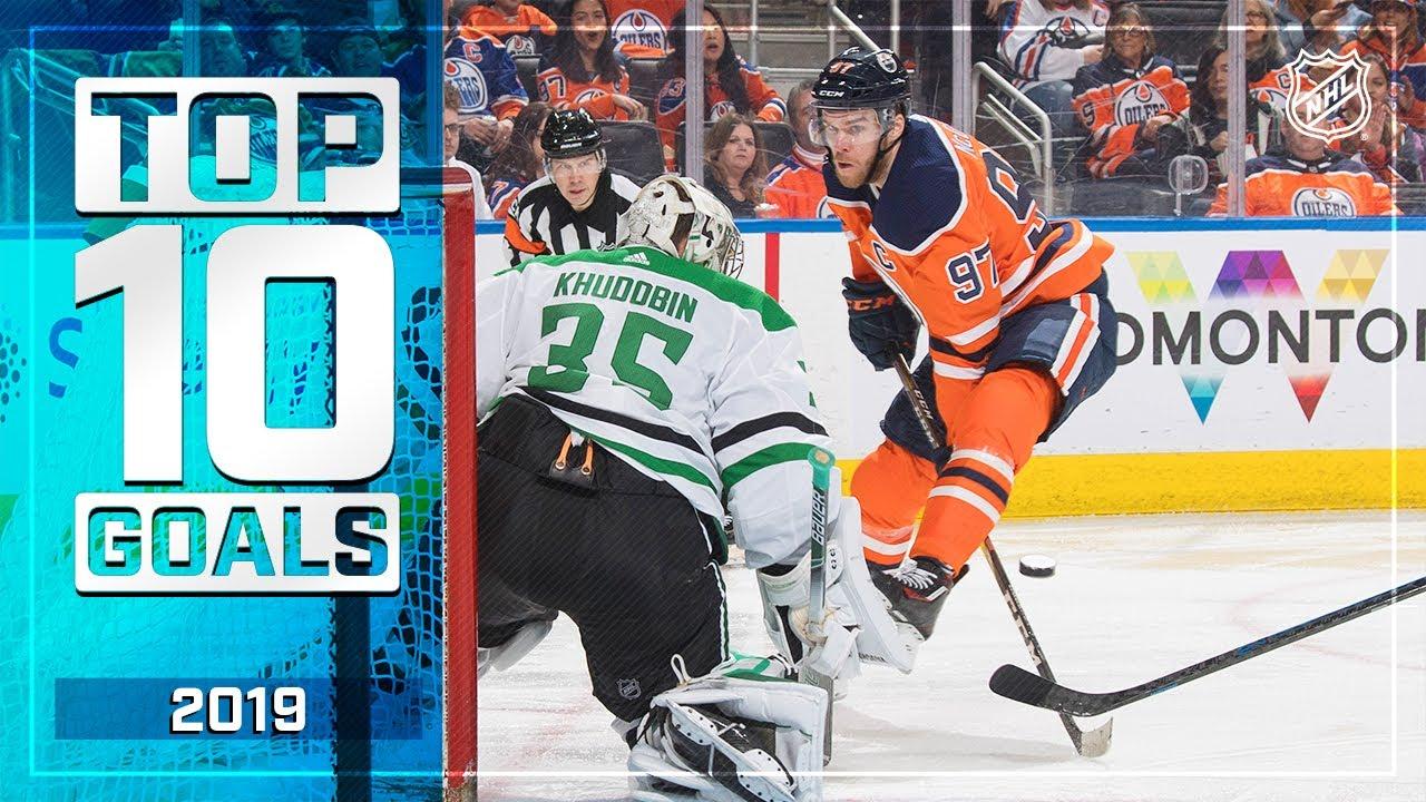 Top 10 Goals of 2019 | NHL