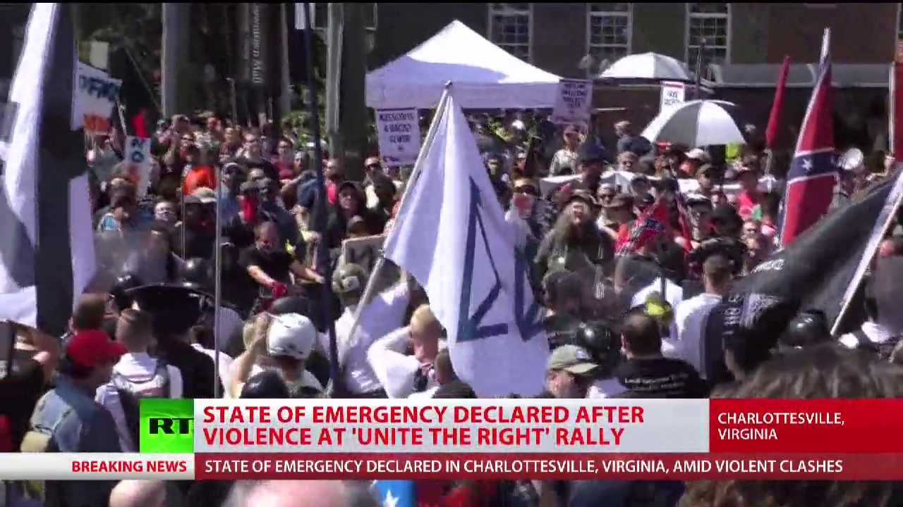 Charlottesville Declares State Of Emergency Over Us Far Right Rally