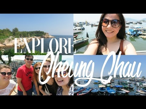 THINGS TO DO IN CHEUNG CHAU! • Study Abroad Vlog#6 | Wander with Waiyi