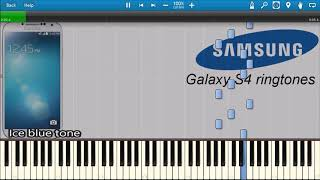 SAMSUNG GALAXY S4 RINGTONES IN SYNTHESIA