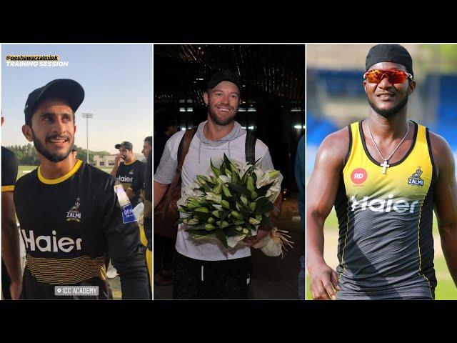 Ab De Villiers Reaches Dubai And Darren Sammy Having Fun With