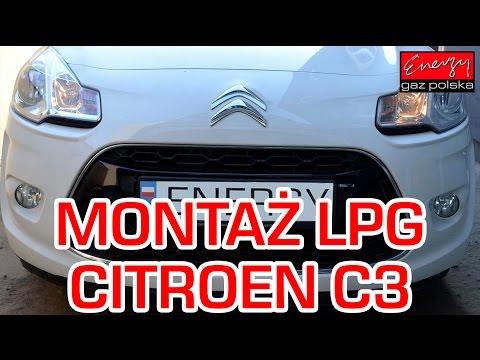 Montaż LPG Citroen C3 z 1.4 2012r w Energy Gaz Polska na gaz Lovato Smart