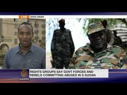 S Sudan rivals in Ethiopia for peace talks