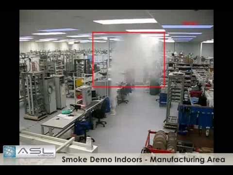 Asl Vision Video Smoke Detection Demo Manufacturing
