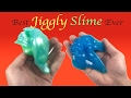 DIY Jiggly Slime Without Borax!! How To Make Super Jiggly Jelly Slime With Baking Soda