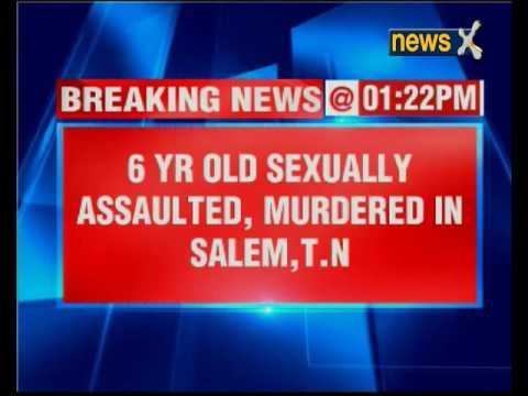 6-year-old girl raped and murdered by 16-year-old boy in Tamil Nadu