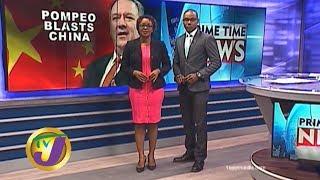 TVJ News: Pompeo Blasts China - January 22 2020