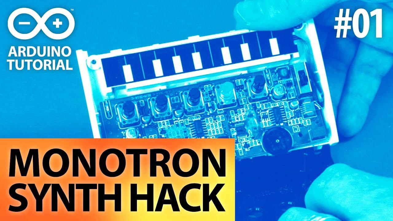 Arduino MIDI-Input Tutorial - E01 - Arduino Monotron Hack - YouTube