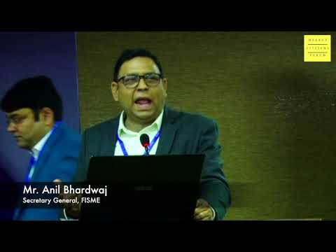 Mr. Anil Bhardwaj addressing conference on Meerut City Development | 5 December 2017