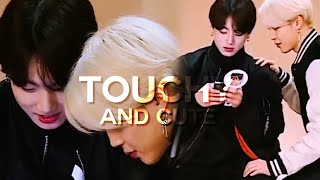 𝗝𝗶𝗸𝗼𝗼𝗸 — touchy & cute moments