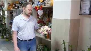 Букет цветов из обычной и кустовой розы и альстромерии - sendflowers.by, teleflora.by