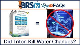 Triton Method Reef Tanks - Eliminating water changes in your saltwater aquarium | Reef FAQs thumbnail