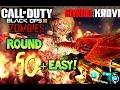 GOROD KROVI EASY HIGH ROUND STRATEGY - How to Get to Round 50+ on Gorod Krovi Black Ops 3 Zombies