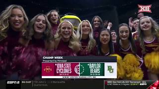 Iowa State vs Baylor Mens Basketball Highlights