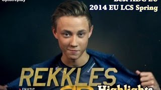 Rekkles Highlights - Best ADC EU 2014 LCS Spring Split